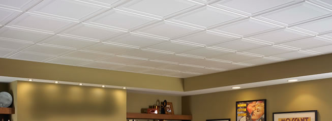 Armstrong suspended ceiling tiles