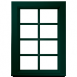Jeld-Wen Premium Vinyl Fixed Windows