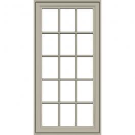 JELD-WEN Premium Vinyl Casement Windows Desert Sand