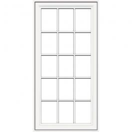 JELD-WEN Premium Vinyl Casement Windows White