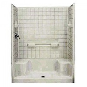 Sterling Plumbing 60in Seated Shower Wall Kit Kight Home