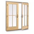 Andersen 400 Series Frenchwood 2-Panel Inswing Patio Door