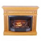 2Ok Oak Gas Fireplace Dual-Fl