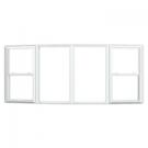 Jeld-Wen Builders Vinyl Bow Windows