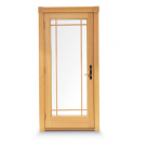 Andersen 400 Series Frenchwood Single Inswing Patio Door