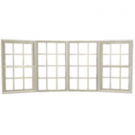 Jeld-Wen Premium Vinyl Bow Windows