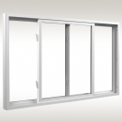 Ply Gem Contractor Series 1000 Sliding Windows