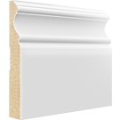 "French Curves Scene I   5 1/2"" MDF Baseboard"
