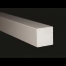 """AZEK 1-1/2"""" Square Profile Moulding 1-1/2"""" x 1-1/2"""" x 12'"""