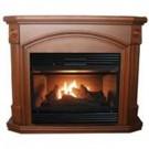 26K Coffee Gas Fireplace Dual