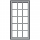 JELD-WEN Premium Vinyl Casement Windows Artic Silver