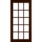 JELD-WEN Premium Vinyl Casement Windows Dark Chocolate